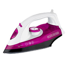 Ferro a Vapor Black & Decker Easy Steam 1200W X5000 Rosa