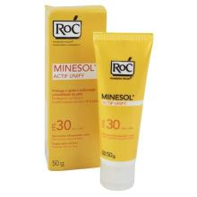 Protetor Solar ROC Minesol Actify Unify FPS 30 Gel-Creme 50g