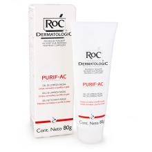 Purif-AC Gel de Limpeza Facial ROC 80g