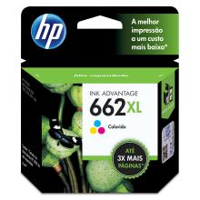 Cartucho para impressora HP 662XL color Ref.:CZ106AB