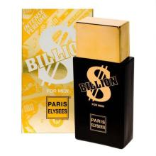 Perfume PARIS ELYSEES Billion For Men Eau de Toilette Masculino 100ml