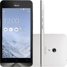Smartphone Asus Zenfone 5 Dual Chip Memória 8GB Processador Intel Atom 1.6GHz Tela 5 ´ 8MP 3G Wi - Fi Android 4.3 Branco A501CG