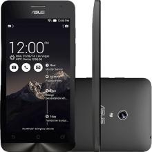 Smartphone Asus Zenfone 5 Memória 8GB Processador Intel Atom 1.6GHz Tela 5 ´ 8MP 3G Wi - Fi Android 4.3 Preto A501CG