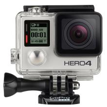 Câmera GoPro Hero 4 Silver Edition 12MP Full HD Vídeo 4K Wi-Fi