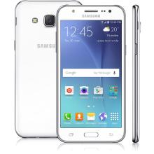 Smartphone Samsung Galaxy J5 Dual Chip Tela 5 ´ Memória 16GB Quad Core 1.2GHz Câmera 13MP 4G Wi - Fi Android 5.1.1 Branco SM - J500