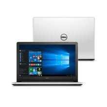 "Notebook Dell Inspiron Intel Core i3 Memória RAM 4GB HD 1TB Tela 15.6"" LED Windows 10 USB HDMI Branco I15-5558-B10B"