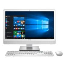 "Computador Dell All In One Intel Core i3 Windows 10 Memória RAM 4GB HD 1TB Tela 23,8"" LED IPS Full HD USB HDMI Bluetooth  Branco IONE-3459-A10"