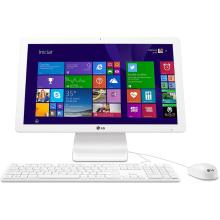 "Computador LG All In One HD 500GB Memória RAM 4GB Processador Intel Celeron Quad Core Tela 21,5"" Full HD Windows 8.1 USB Bluetooth Branco 22V240"