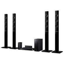 Home Theater Samsung Blu-ray 3D 1000W Bluetooth USB HDMI HT-F5555WK