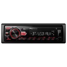 Som Automotivo Pioneer MP3 Player com Bluetooth e USB MVH-298BT