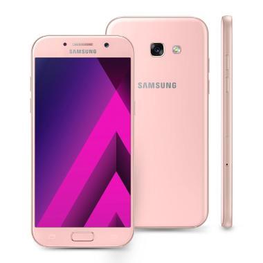 Smartphone Samsung Galaxy A5 2017 Dual Chip Tela 5.2 Memória 32gb Octa-core 3gb Ram Câmera 16mp Selfie 16mp 4g Wi-fi Android 6.0 Marshmallow Rosa A520