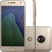 Smartphone Motorola Moto G5 Plus Tela 5,2 Memória 32GB Processador Octa - Core Câmera 12MP Frontal 5MP 4G Wi - Fi Android 7.0 XT1683