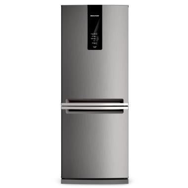 Geladeira/refrigerador 443 Litros 2 Portas Inox - Brastemp - 110v - Bre57akana