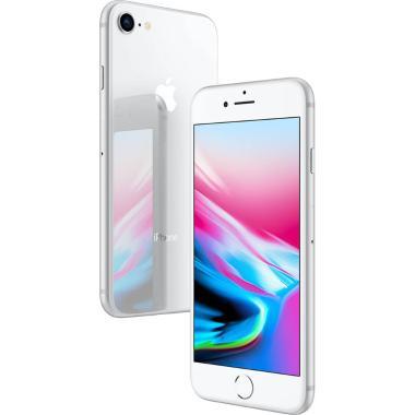 Iphone 8 Apple Ios11 Tela 4,7 Memória 64gb Processador A11 Câmera 12mp 4g Wi-fi Prata Mq6h2bz/a