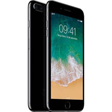 Iphone 7 Plus Apple Ios11 Tela 5,5 Memória 128gb Processador A10 Câmera 12mp 4g Wi-fi Preto Brilhante Mn4v2bz/a
