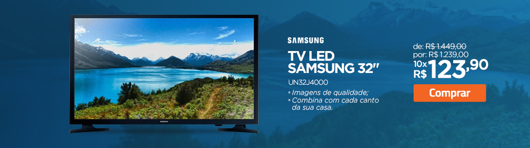 TV LED Samsung UN32J400