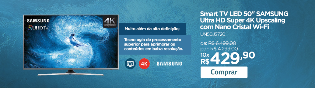 smart TV Samsung Ultra HD UN50JS720