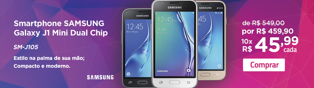 Smartphone Samsung Galaxy J1 Mini Dual Chip