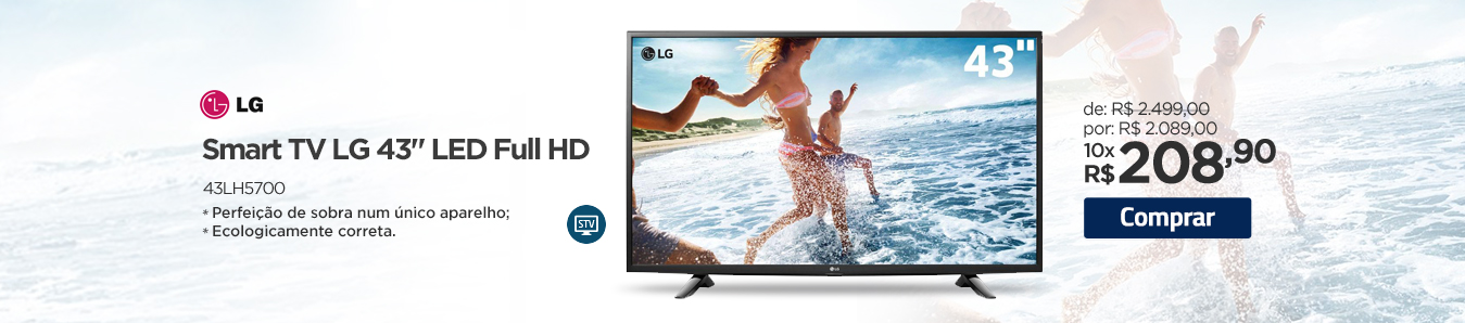 Smart TV LG Full HD 43LH5700