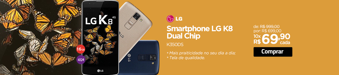 Smartphone LG K8 Dual Chip