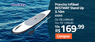 Prancha Inflável BESTWAY Stand Up 3.10m