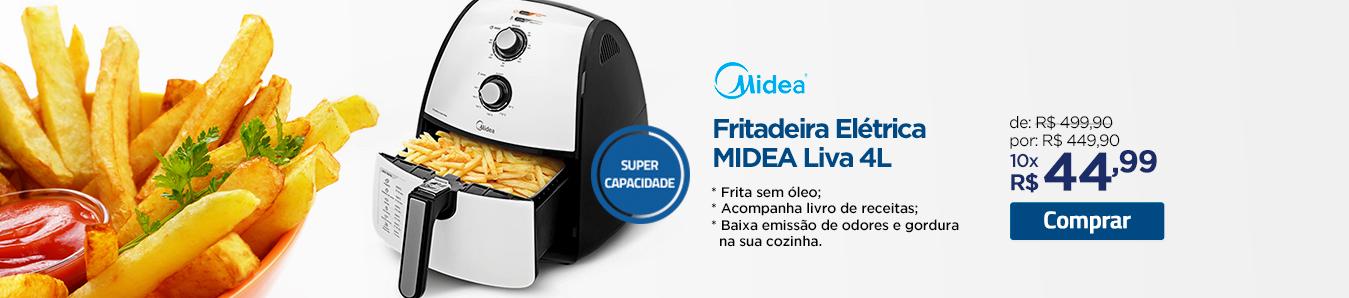 Fritadeira Elétrica Midea Liva 4L