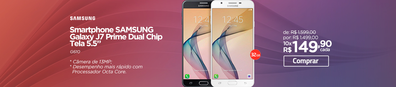 "Smartphone Samsung Galaxy J7 Prime Dual Chip Tela 5.5"""