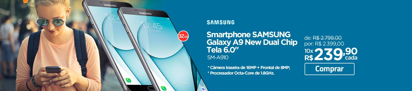 Smartphone Samsung Galaxy A9 New Dual Chip Tela 6.0