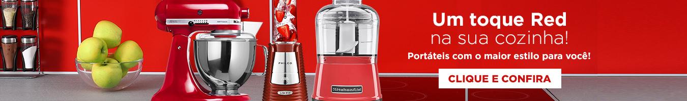 Um toque Red na sua cozinha!