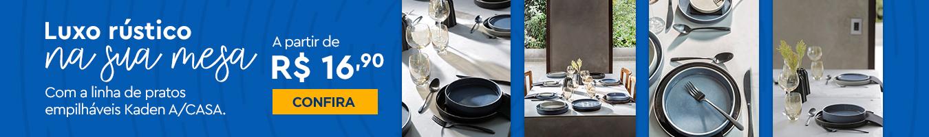 Kaden - Luxo rústico na sua mesa