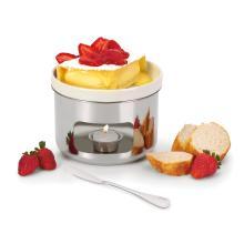 fondue queijo brie forma com espatula ref.:1976
