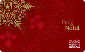 Cartão Presente Natal Angeloni