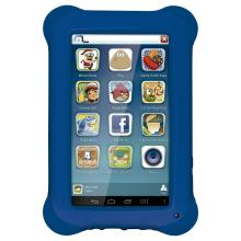Tablet Multilaser Kid Pad Tela 7 Memoria Interna 8GB Memoria RAM 512MB Quad Core Camera 2MP Wi-Fi Android 4.4 Azul NB194