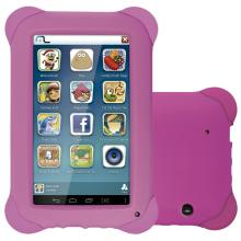 Tablet Multilaser Kid Pad Tela 7 Memoria Interna 8GB Memoria RAM 512MB Quad Core Camera 2MP Wi-Fi Android 4.4 Rosa NB195