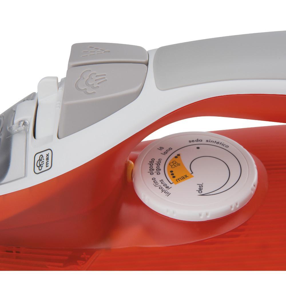 9347bf727 Ferro de Passar Roupa a Vapor Arno Ultragliss FU54 Vermelho com Branco