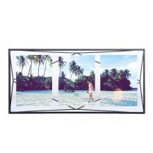 Porta-retrato Prisma Multi Frame Preto - Umbra