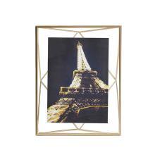 Porta-retrato Prisma Dourado 13x18cm - Umbra