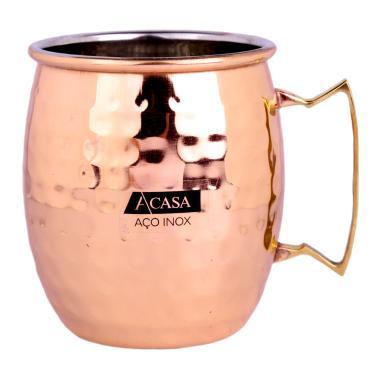 5d99f3d77 Caneca Moscow Mule em Aço Inox Cobre - A CASA