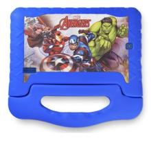 "Tablet Multilaser Avengers 8GB 7"" Quad Core NB280 Azul"