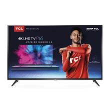 "Smart TV LED 55"" TCL Ultra HD 4K HDR 55P65US"