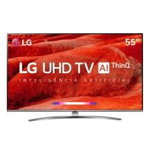 "Smart TV LED 55"" 4K LG 55UM7650PSB"