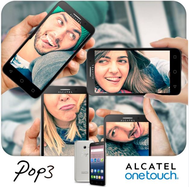 Smartphone Alcatel POP3 Dual Chip Tela 5 Memoria 8GB Quad-Core 1.3 ... e349df27ef