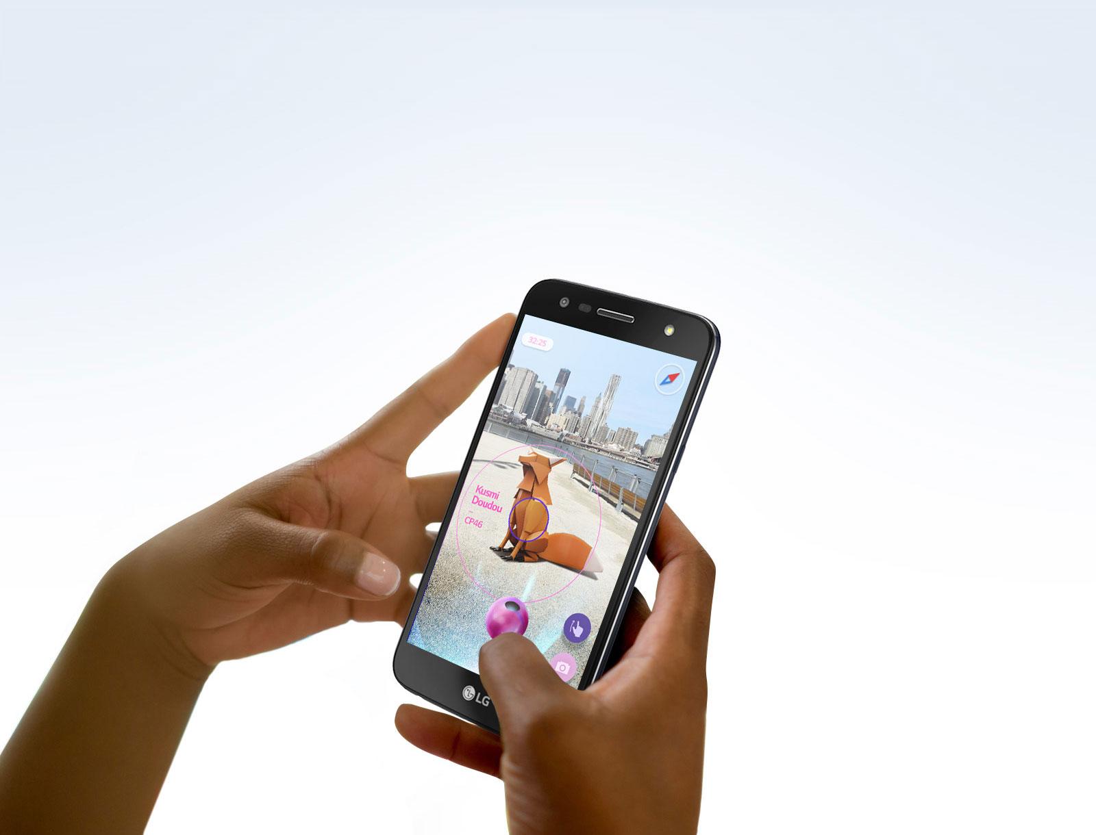 27b1eaea8 Smartphone LG K10 TV Power Titânio 32GB Dual Chip Tela de 5