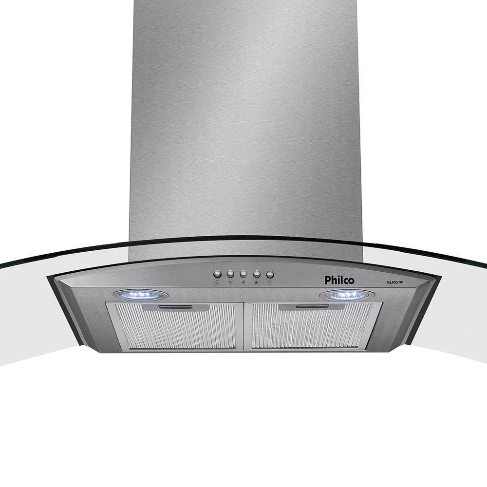 Coifa-de-Parede-Philco-Glass-90cm-PCO90G-Vidro-e-Inox-Angeloni-3
