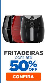 Fritadeiras com 50% OFF