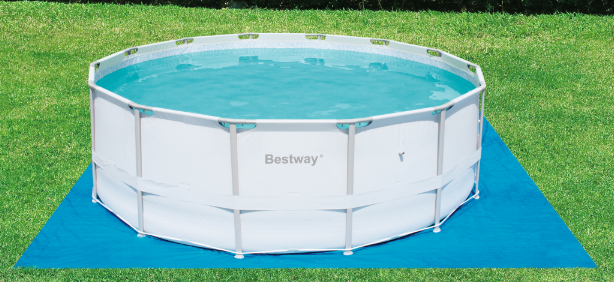 Piscina estruturada 127v bestway for Lona piscina bestway
